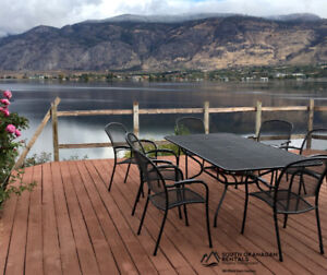 Stunning Views from this Lower Suite Winter Rental in Osoyoos
