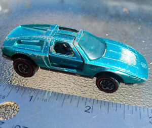 1972 HOT WHEELS REDLINE Spectraflame Aqua Mercedes-Benz C-111