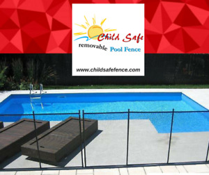 Removable Swimming pool fence Muskoka : Child Safe Pool fence