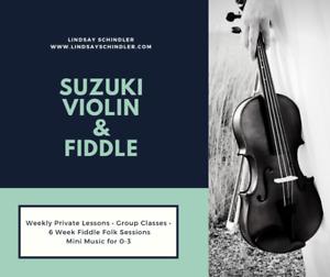 Violin & Fiddle Lessons