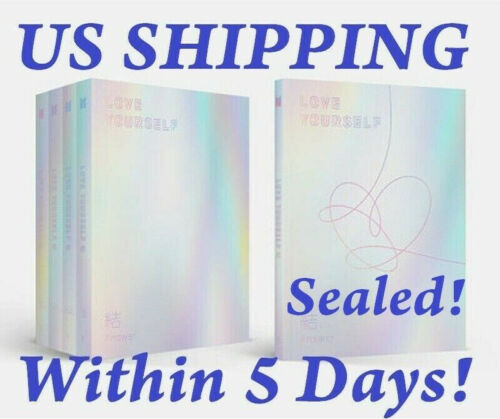 US SHIPPING BTS-[Love yourself ? Answer]4th Album SELECT CD+Book+Photo Card+etc