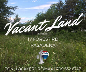 VACANT LAND 17 Forest Rd. #Pasadena #ToniLockyer #Remax