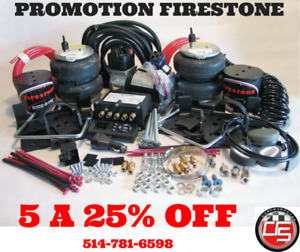 FIRESTONE AIRLIFT PRODUCT EN PROMOTION SPECIAL