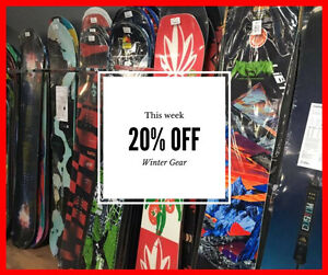 Huge Winter Clearance! Boards, Boots, Jackets, Goggles & More!