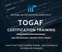 TOGAF 9.2 Certification Course! Learn from Certified Trainer!