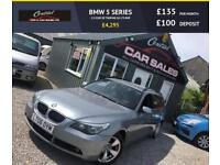BMW 525D TOURING ESTATE 6 SPEED MANUAL (175BHP) FINANCE PARTX WELCOME