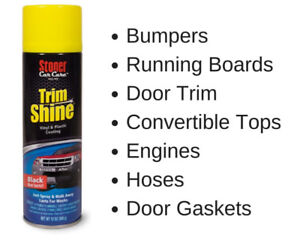 Stoner Car Care Trim Shine Protectant (all trim types, in & out)