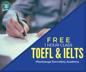 TOEFL & IELTS Exam Preparation Courses in Mississauga