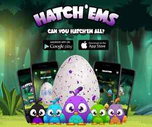 Didn't get a Hatchimal?  Hatch'ems to the rescue! TOTALLY FREE!