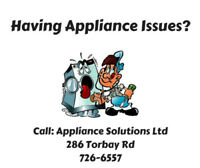 Appliance Repair! Call Us Today!