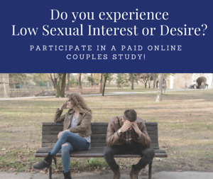 Paid Research Opportunity - Online Study of Men with Low Desire