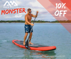 MONSTER Inflatable Paddle Board (iSUP)