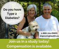 Do you have Type 2 Diabetes? Participate in a study today!