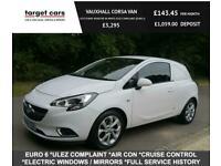 2016 Vauxhall Corsa VAN 1.3 CDTI 95BHP SPORTIVE IN WHITE EURO 6 ULEZ COMPLAINT C