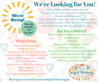 Part Time House Cleaning Associate, Orleans and Blackburn Hamlet