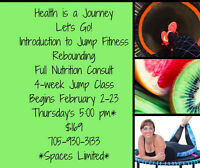 INTRO to Rebounding JUMP Fitness & Nutritional Package - $169