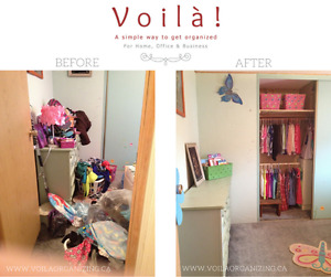 Decluttering & Reorganizing Services / Home Staging