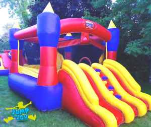 Magic Castle Bouncy House with Slides for Rent