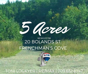 5 ACRES 20 Bolands Rd. #FrenchmansCove #ToniLockyer #Remax