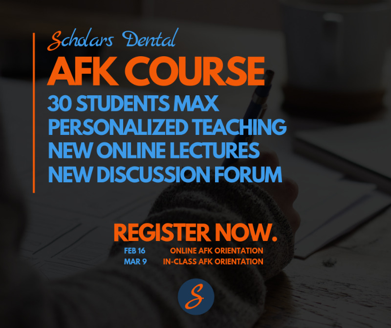 Scholars Dental NDEB AFK exam preparation course (+ Online