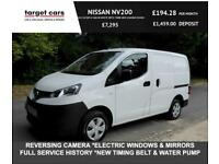 2016 Nissan NV200 1.5DCI ACENTA VAN IN WHITE WITH TWIN SIDE LOADING DOORS CAR DE