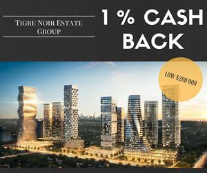 1% CASH BACK! Only through our team - M City Condo Development