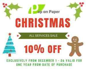 Pop on Paper - Professional Resume Writing Services Edmonton Edmonton Area image 1