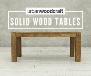 MODERN RUSTIC DINING TABLES – UP TO 50% OFF SHOWROOM DISPLAY