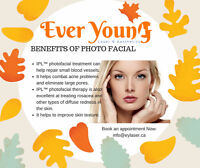 Photofacial #everyoung (only for $125!) GET EXTRA 30% OFF
