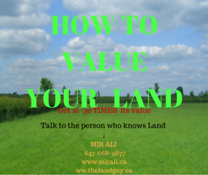 LANDOWNERS -   UNLOCK THE  HIDDEN VALUE OF YOUR LAND