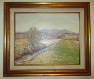 Peinture – « L'éveil du printemps »