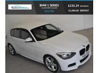 2012 62 BMW 1 SERIES 2.0 118D M SPORT 5D 141 BHP DIESEL