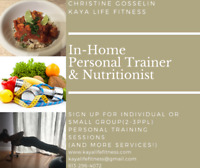 Customized Meals & In Home Personal Trainer