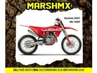 Gas Gas MC 450 F 2021 Model - Nil Deposit Finance Available from 173/Mth