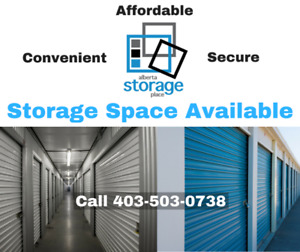 Storage in South Calgary - Lowest Price Guarantee!