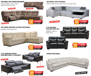 Now on Sale up to 65% OFF All High End Sectionals Storewide!