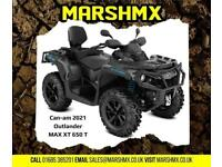 Canam Outlander MAX XT 650 T 2021 Model-Nil Deposit Finance Available