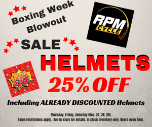 SNOW and MOTORCYCLE clothes and HELMETS SALE!! RPM Cycle
