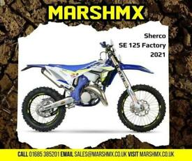 Sherco SE125 Factory 2021 Model - Finance Available from 158