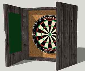 Dart Board Cabinets Cambridge Kitchener Area image 8