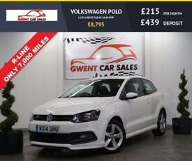 2014 14 VOLKSWAGEN POLO 1.2 R-LINE STYLE AC 3D 69 BHP