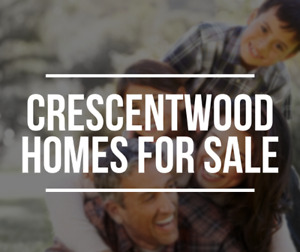 ***CRESCENTWOOD*** Homes For Sale