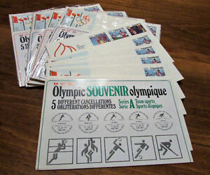 XXI Olympiad Montreal 1976 Souvenir 25 Issue Covers Kitchener / Waterloo Kitchener Area image 7