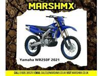 Yamaha WR 250F Enduro 2021 Model - OUT OF STOCK