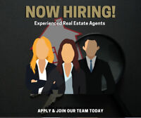 We're Hiring Highly Motivated Real Estate Agents!!