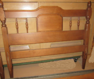Walnut Twin Bed Only $30