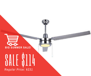 BIG CEILING FAN SALE! UNBEATABLE PRICES ONLY @ TITAN LIGHTING!