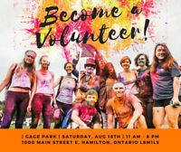 Volunteers needed for A MIDSUMMER'S DREAM COLOUR FESTIVAL!