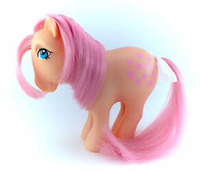 Vintage Peachy Original G1 1982 My Little Pony MLP Earth Ponies