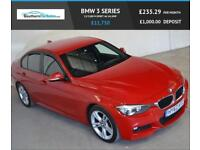 2012 62 BMW 3 SERIES 2.0 318D M SPORT 4D 141 BHP DIESEL